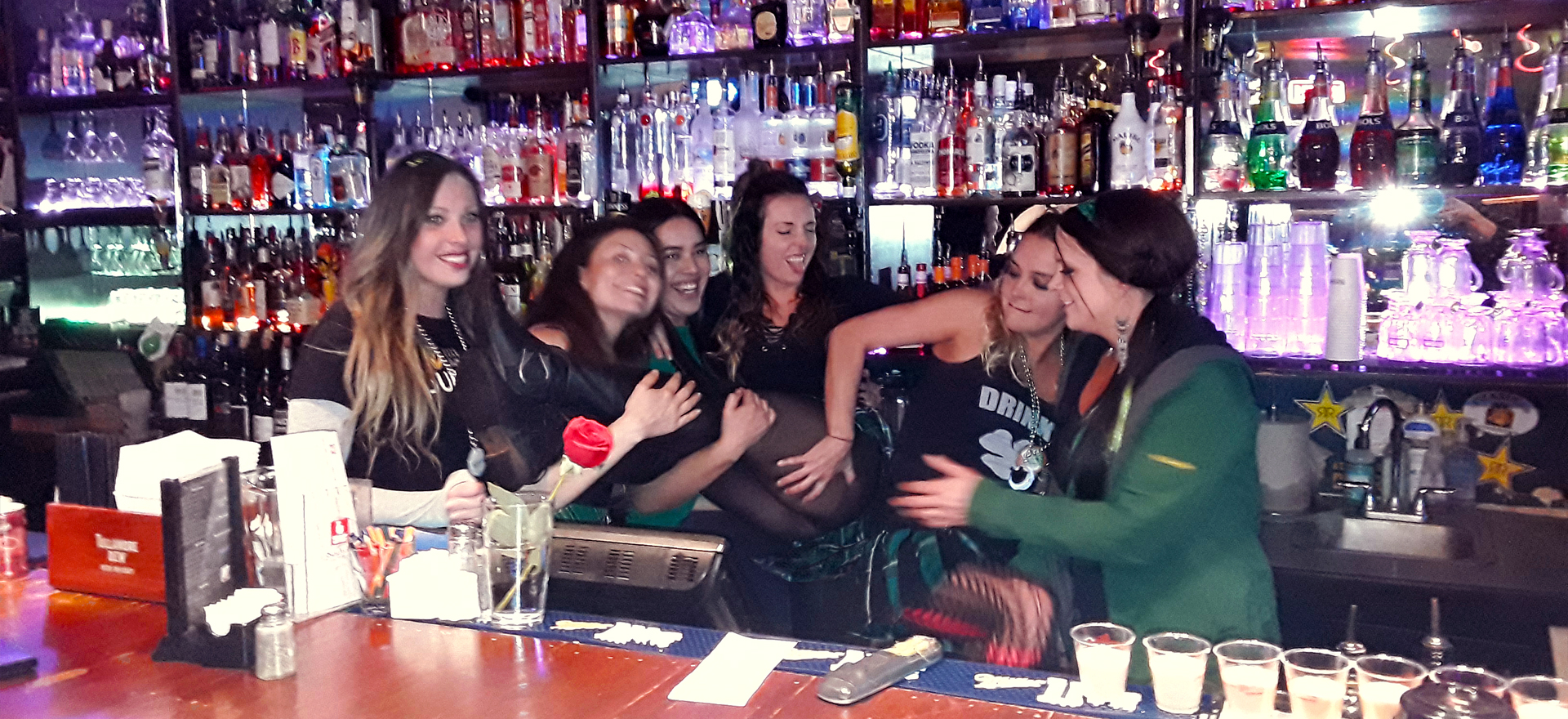 Friendly bar play at JB O'Brien's Irish Pub & Sports Bar