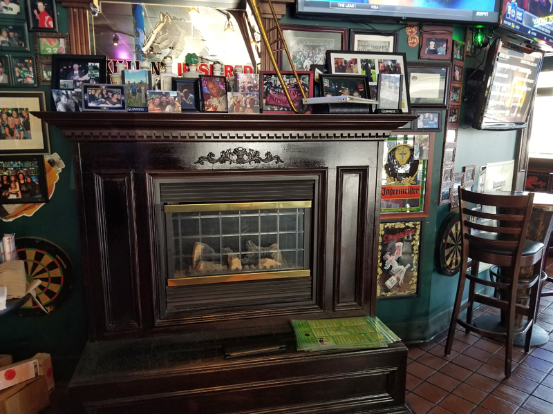 JB O'Brien's Irish Pub & Sports Bar interior