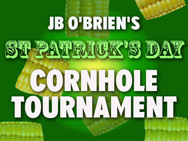 jb obriens st pattys day cornhole tournament 2019